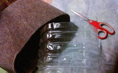 Как сделать корзинку-кузовок из пятилитровой пластиковой бутылки