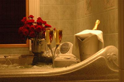 романтический вечер в ванной