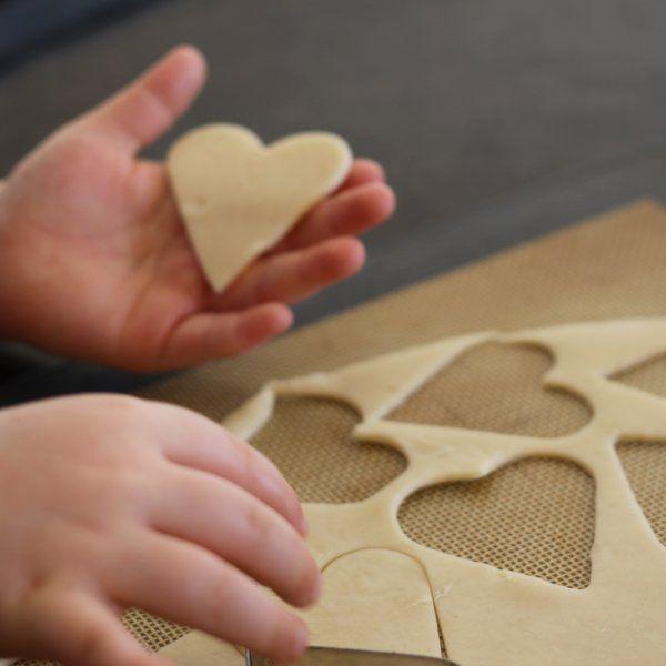 Как сделать вкуснейшие пирожные-печенья «Сердечки» на День святого Валентина