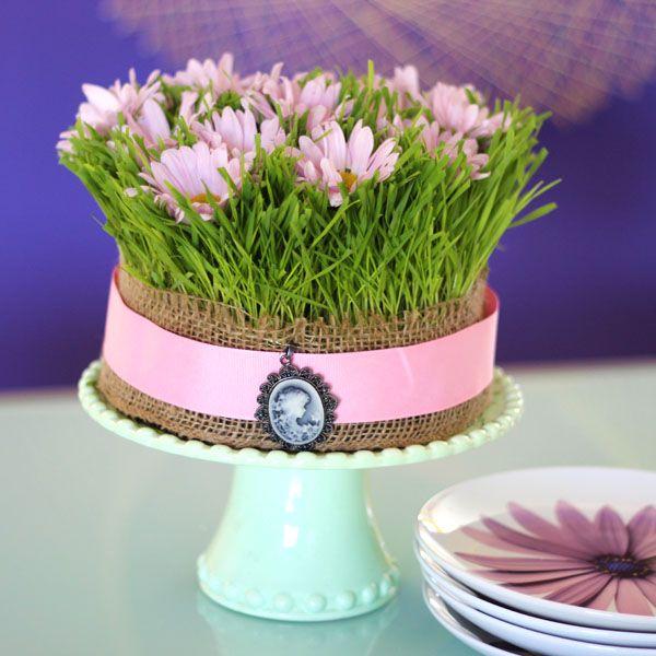 Травяной «торт»