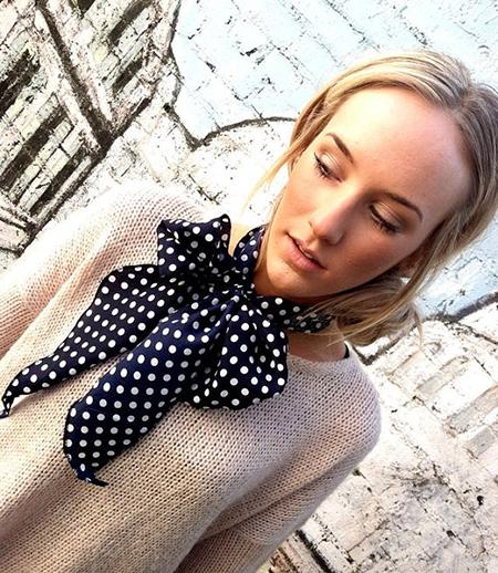 Как завязать викторианский галстук-бант: мужской и женский вари