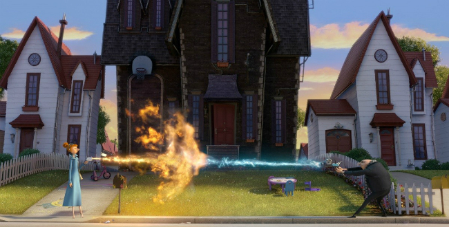 Гадкий я 2 (Despicable Me 2): кадры из мультфильма Грю против агента