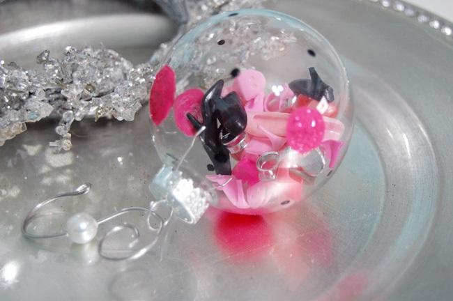 Как делать елочные игрушки своими руками: сценки и отдельные элементы в прозрачных пластиковых шарах, туфельки барби