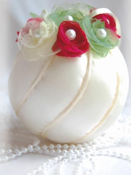 Как делать елочные игрушки своими руками: украшаем шары. Часть 3.