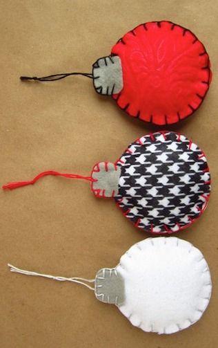 Как делать елочные игрушки своими руками: фетр, шары