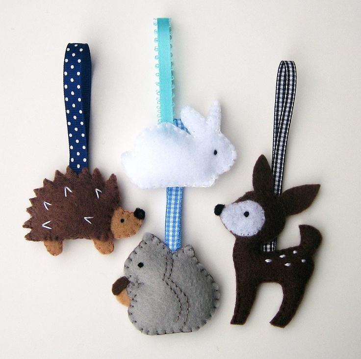 Как делать елочные игрушки своими руками: фетр, животные