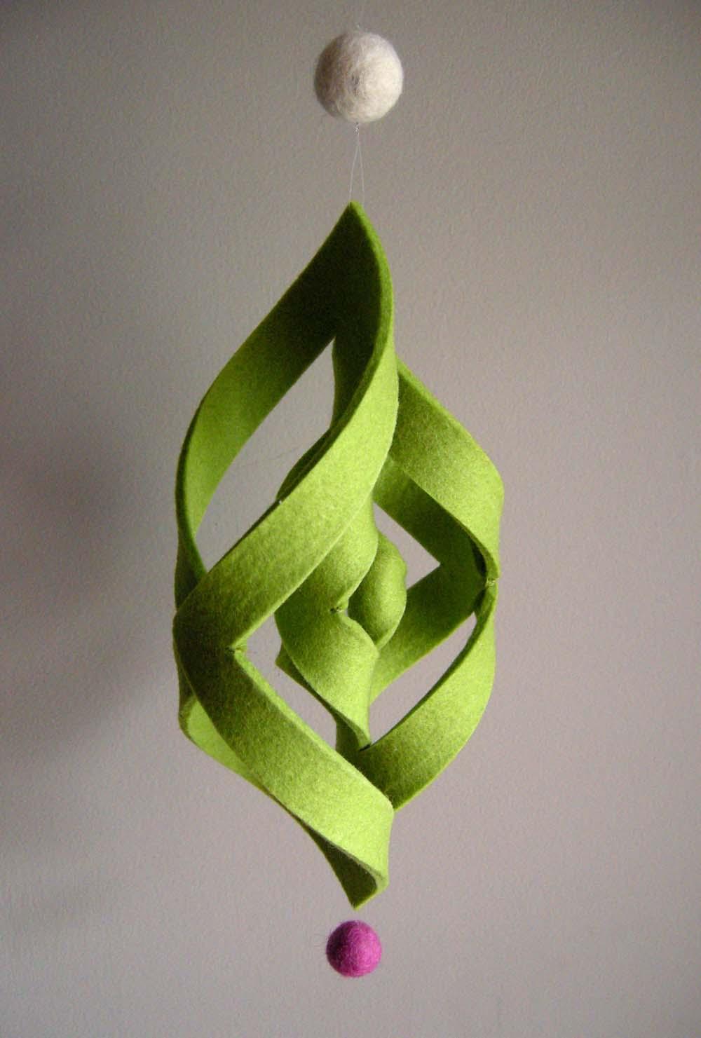 Как делать елочные игрушки своими руками: фетр, объемные игрушки - завитушка