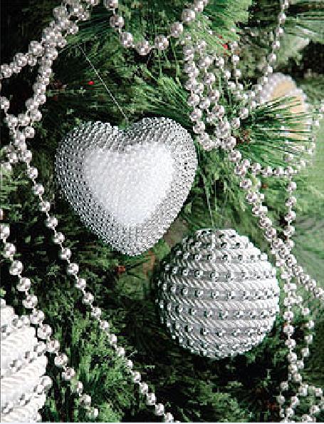 Как делать елочные игрушки своими руками: украшаем шары - крупная бечевка вместе с елочной гирляндой наклеиваются вплотную расположенными витками