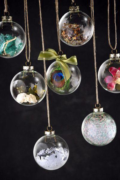 Как делать елочные игрушки своими руками: сценки и отдельные элементы в прозрачных пластиковых шарах
