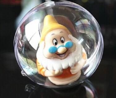 Как делать елочные игрушки своими руками: сценки и отдельные элементы в прозрачных пластиковых шарах, с игрушкой