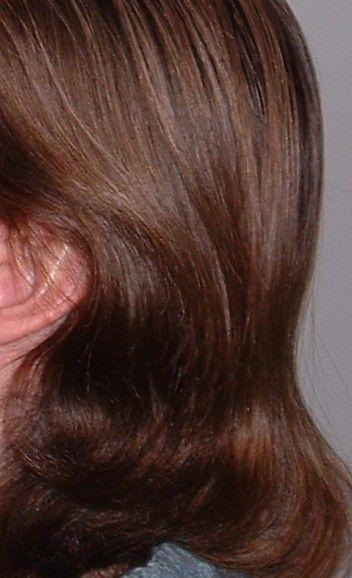 Волосы после использования самодельного домашнего кондиционера