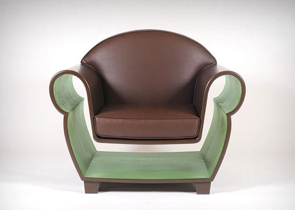 полое кресло
