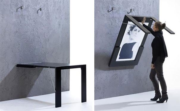 ткидной стол-картина в эффектной раме