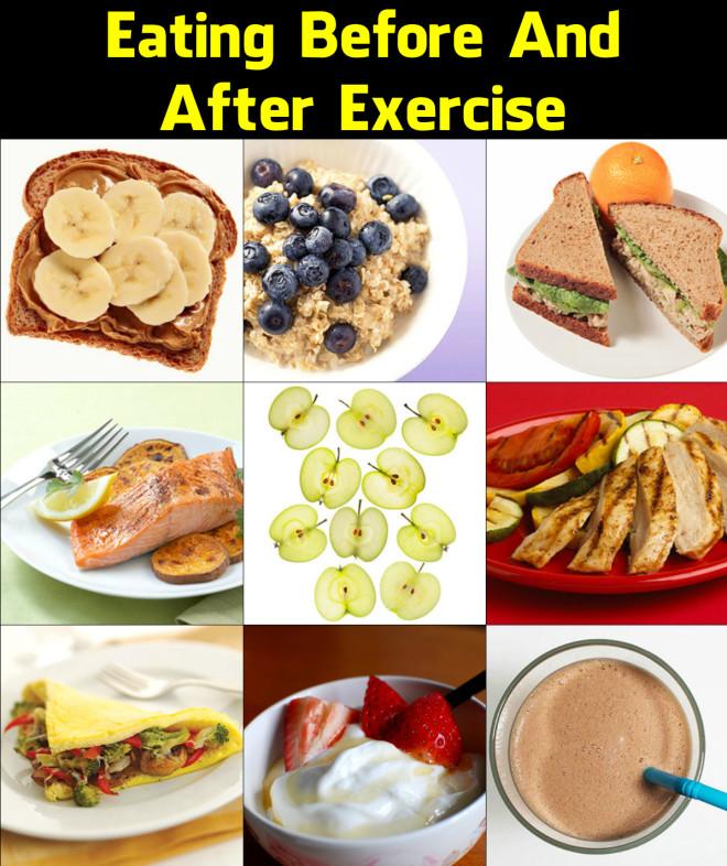 еда после занятий спортом