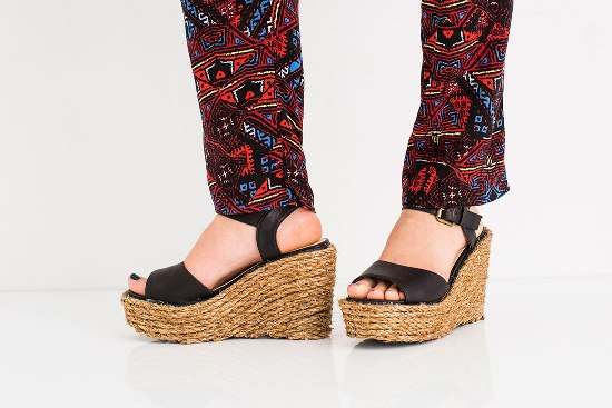 Как превратить обычную обувь в модные эспадрильи