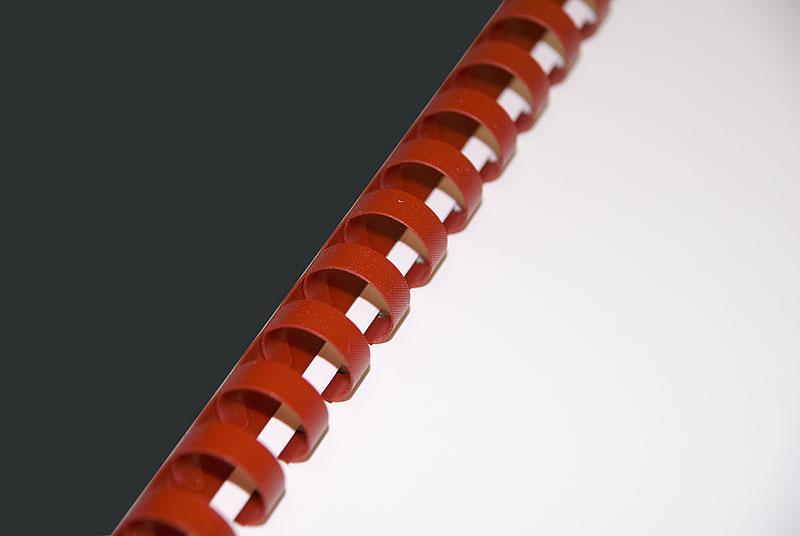 специальная пластиковая пружина для ручного переплета