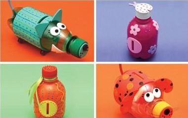 копилки из пластиковых бутылок