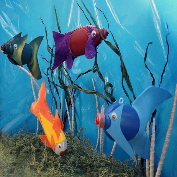 Рыбки из пластиковой тары