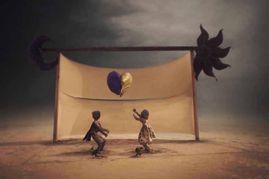ежегодный сюрреалистический фестиваль «Горящий человек» (Burning Man) инсталляция с детьми