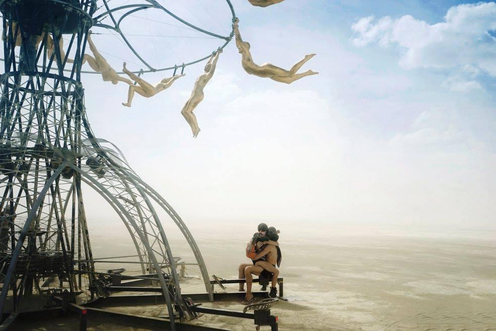 Как проходит ежегодный фестиваль «Горящий человек» (Burning Man)
