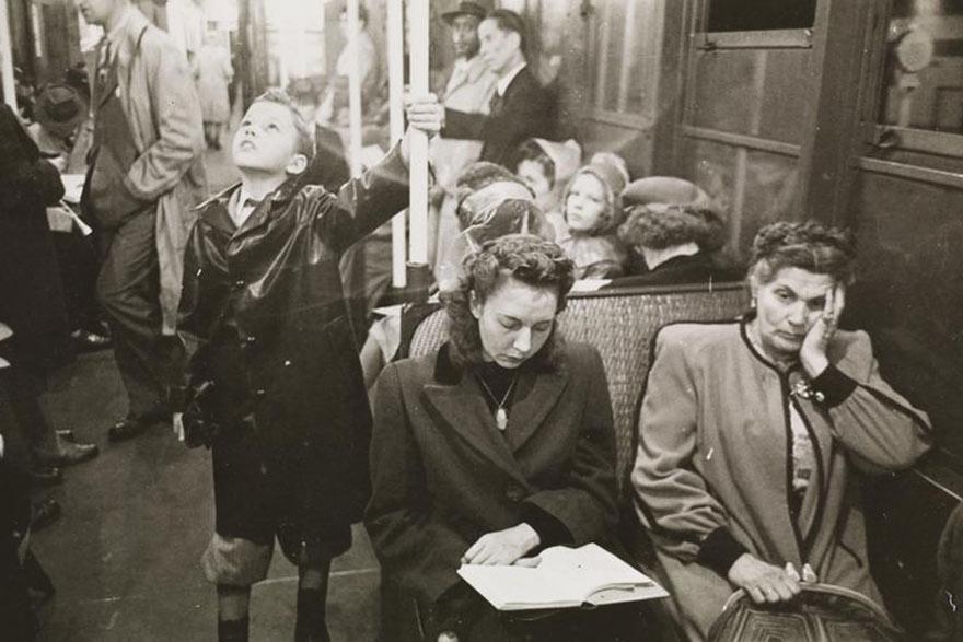Нью-Йоркская подземка 1946-го глазами 17-го Стэнли Кубрика: лучик света в темном царстве