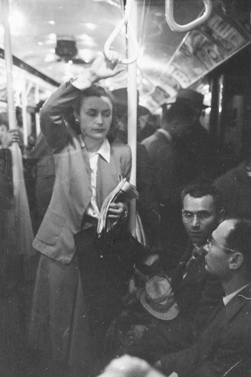 Нью-Йоркская подземка 1946-го глазами 17-го Стэнли Кубрика: романтическая послевоенная эпоха - мужчины и женщины