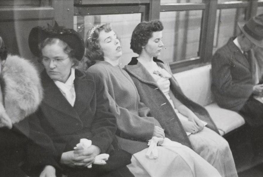Нью-Йоркская подземка 1946-го глазами 17-го Стэнли Кубрика: принцессы послевоенного времени