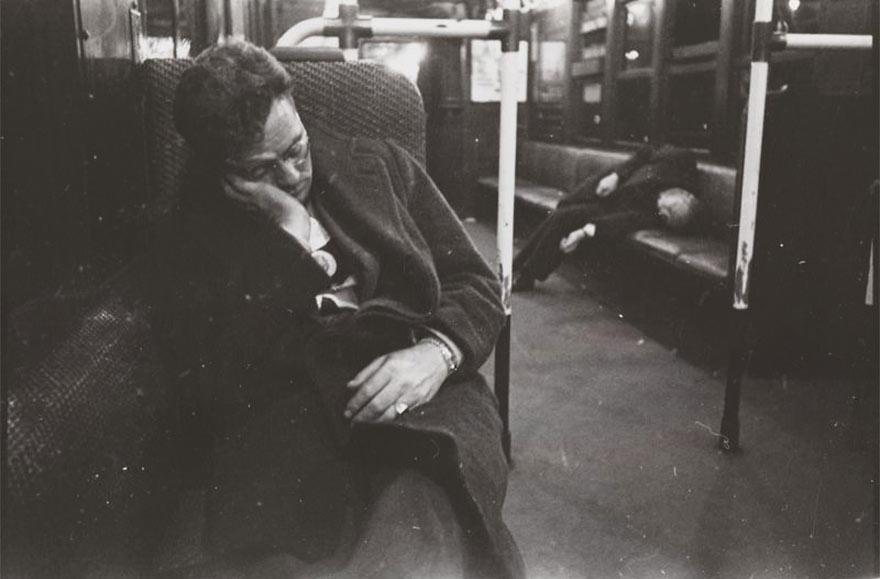 Нью-Йоркская подземка 1946-го глазами 17-го Стэнли Кубрика: можно расслабиться