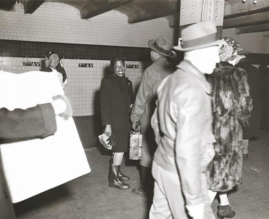 Нью-Йоркская подземка 1946-го глазами 17-го Стэнли Кубрика: расизм?