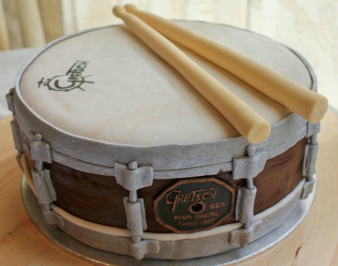 Торт-барабан