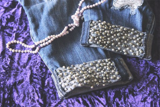 Как декорировать одежду и обувь с помощью искусственных жемчужин