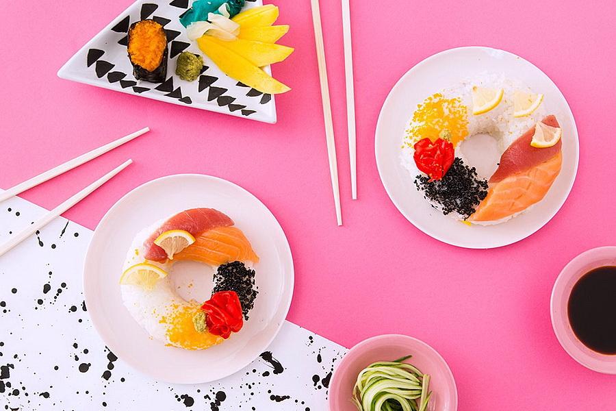 Как самому сделать знаменитую новинку японской кухни: суши – пончик