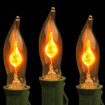 лампочки в виде мерцающих огоньков