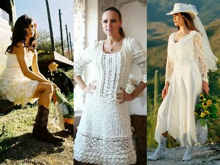 Как выглядят альтернативные версии традиционного свадебного платья
