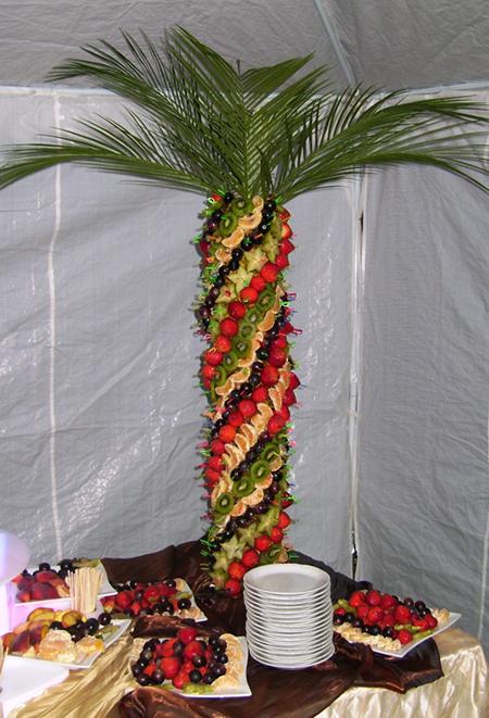 Фруктовая пальма из ананасов :: Ольга и Владимир Хмельницкие