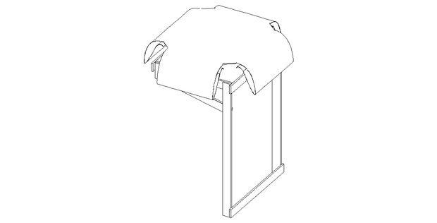 ...чтобы закрепить материал на этом каркасе, обернув ушки вокруг 4-х горизонтальных досок и прикрепив/пришив к гамаку с изнанки