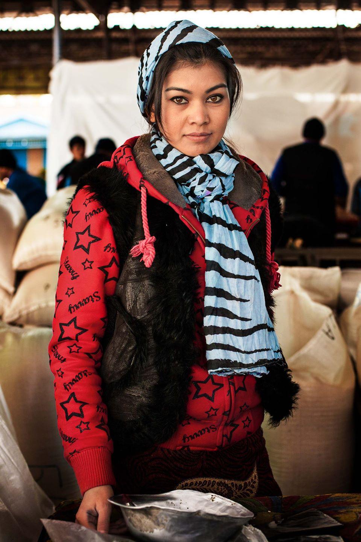 Атлас красоты, девушка из Узбекистана