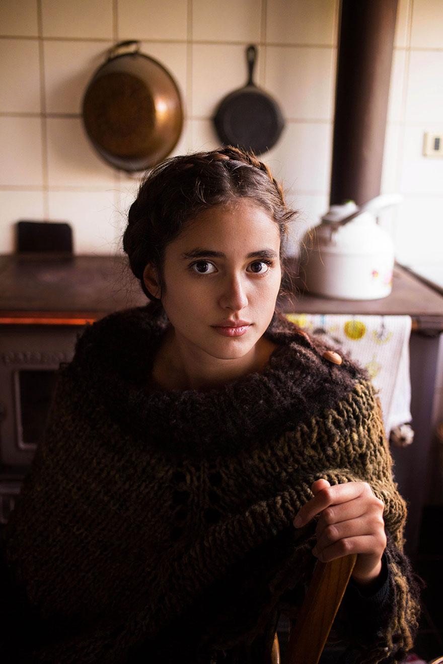 Атлас красоты, девушка из Эль Пасо, Чили