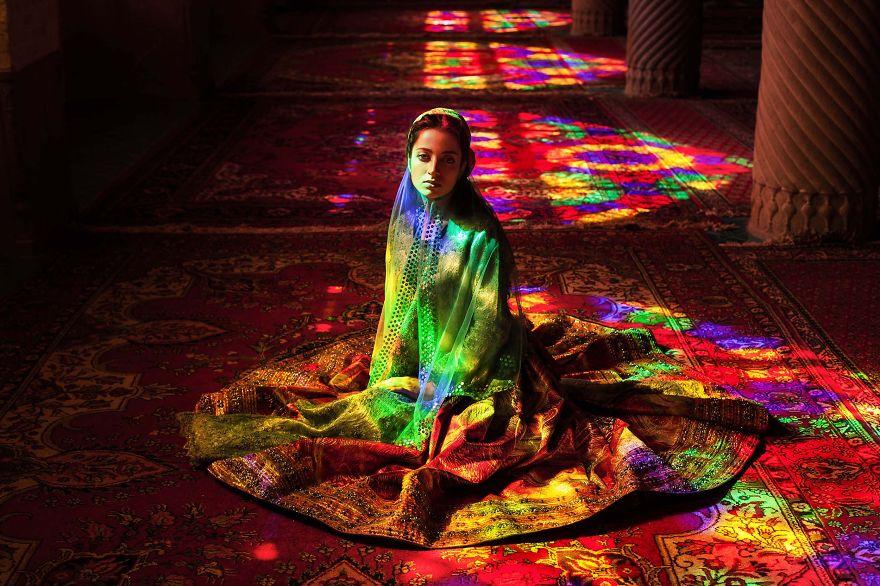Атлас красоты, девушка из Ирана
