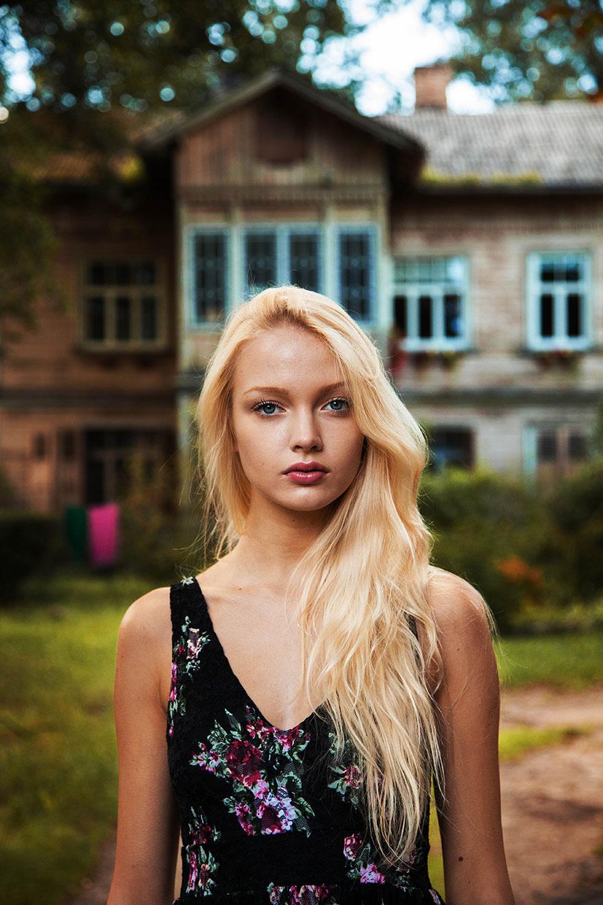 Атлас красоты, девушка из Риги, Литва.