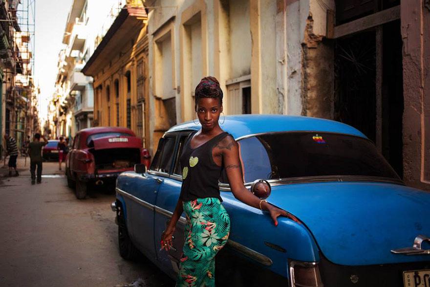 Атлас красоты, девушка из Гаваны, Куба
