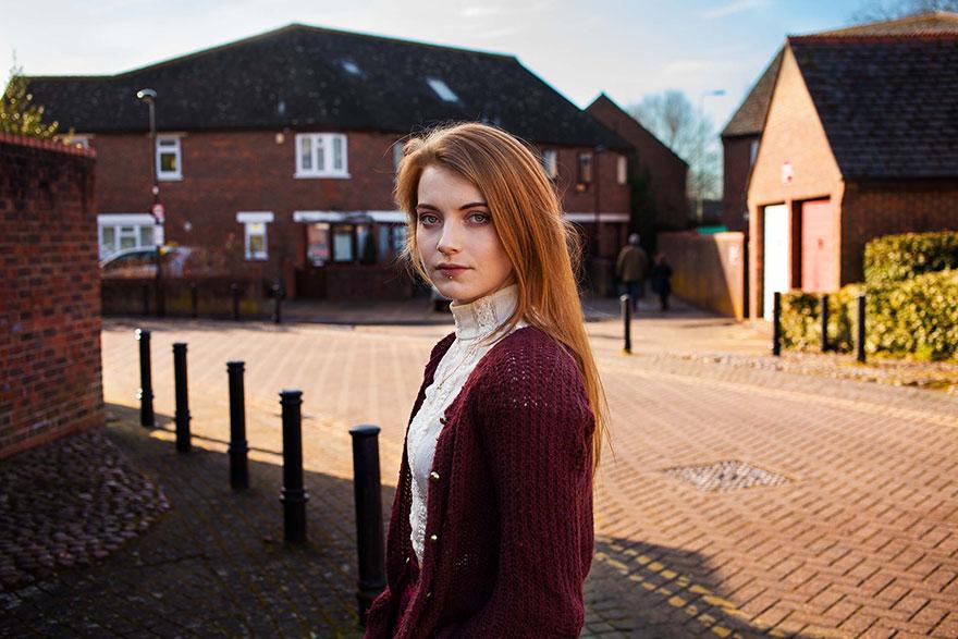 Атлас красоты, девушка из Оксфорда, Великобритания