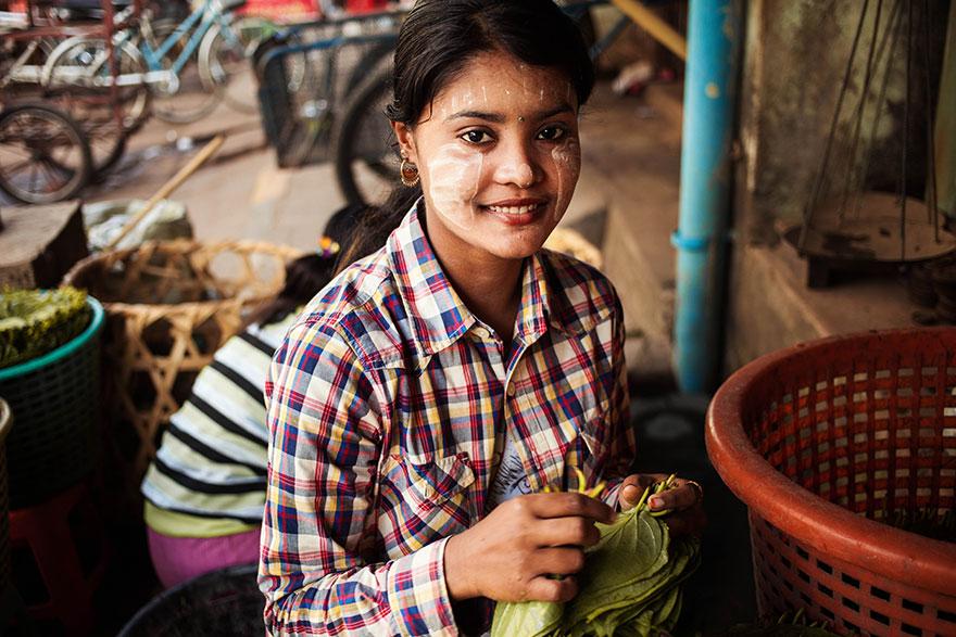 Атлас красоты, девушка из Мьянмы