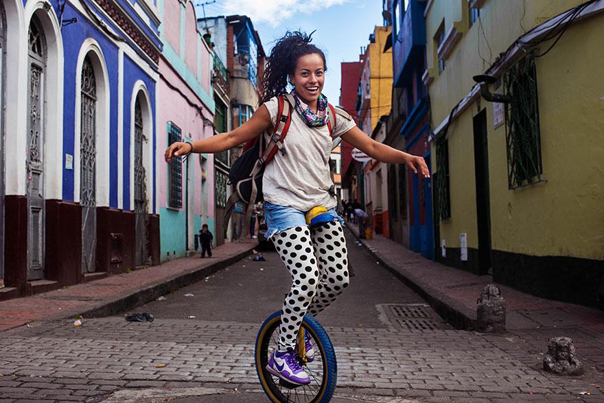 Атлас красоты, девушка из Боготы, Колумбия