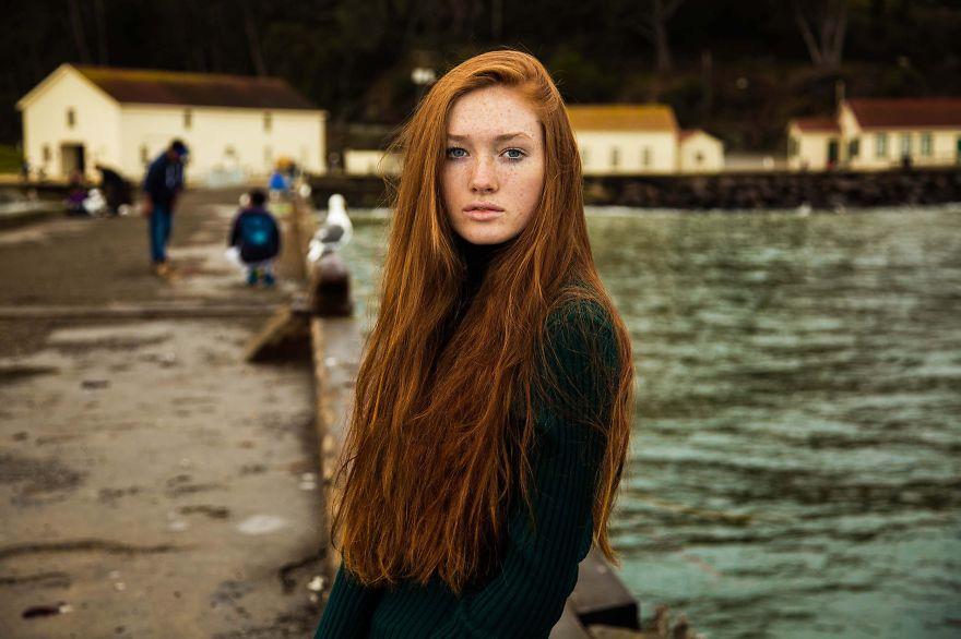 Атлас красоты, девушка из Сан-Франциско, США