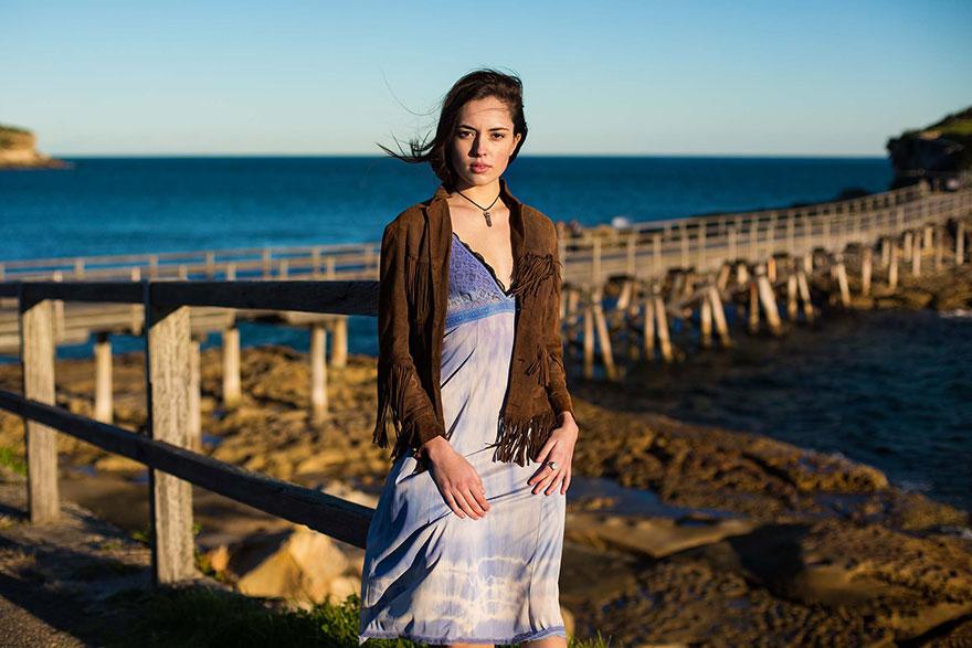 Атлас красоты, девушка из Сиднея, Австралия