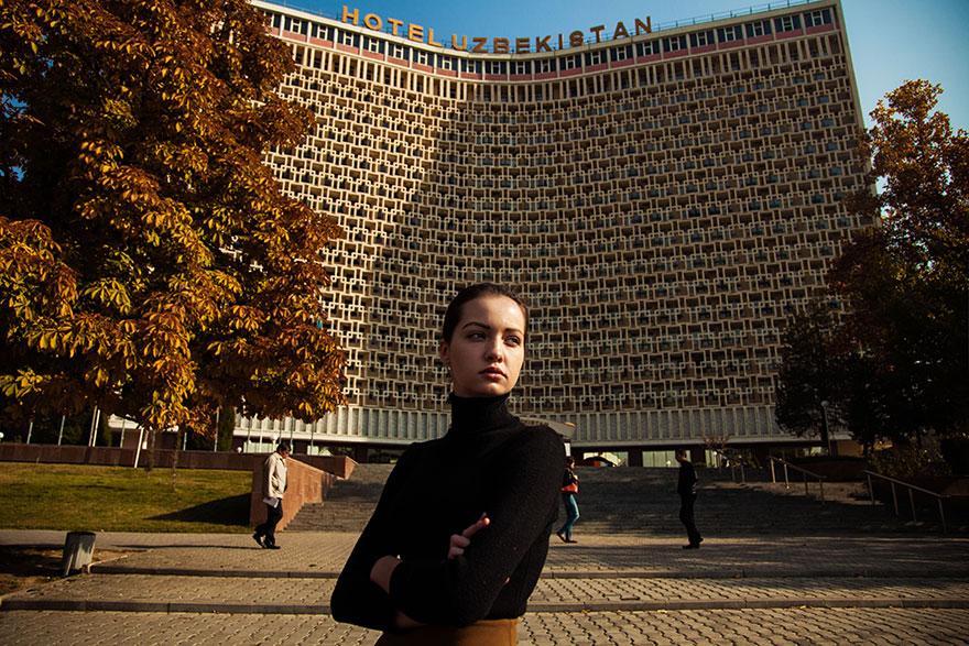 Атлас красоты, девушка из Ташкента, Узбекистан