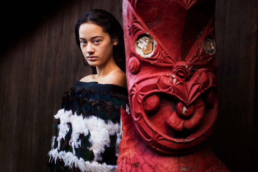 Атлас красоты, девушка из Новой Зеландии