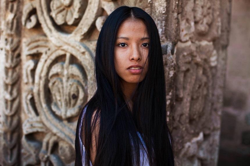 Атлас красоты, девушка из Перу