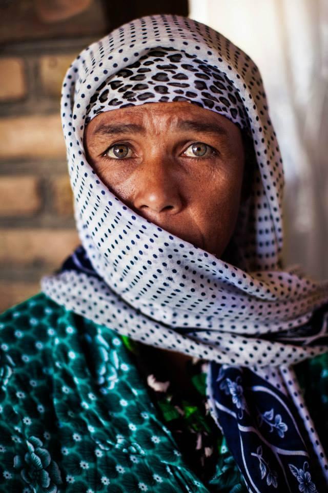 Атлас красоты, женщна в возрасте из Узбекистана